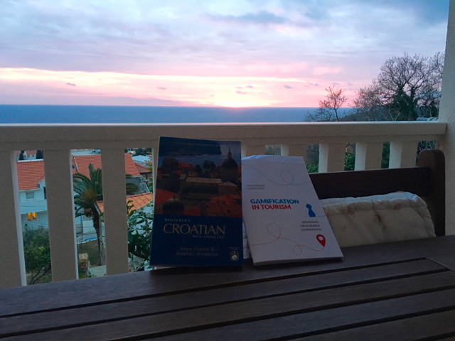 Sabbatical Books & Sunset